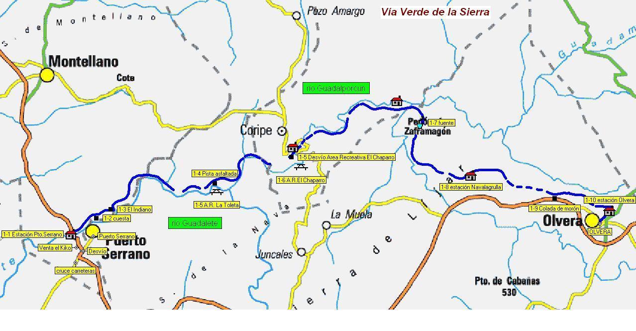 Imágenes del artículo: Ruta 1 - Via Verde de la Sierra (Puerto Serrano, Olvera)