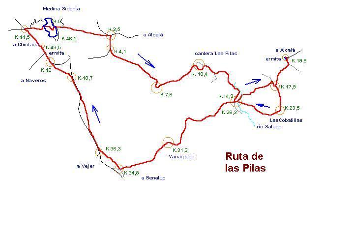 Imágenes del artículo: Ruta 3 - Las Pilas  (Medina Sidonia, Alcalá de los Gazules)