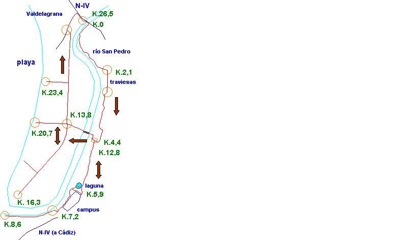 Imágenes del artículo: Ruta 4 - Los Toruños-Algaida (Valdelagrana)