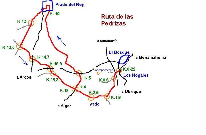 Imágenes del artículo: Ruta 6 - Las Pedrizas (El Bosque, Prado del Rey)