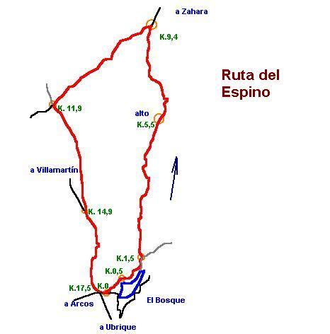 Imágenes del artículo: Ruta 7 - Del Espino (El Bosque)