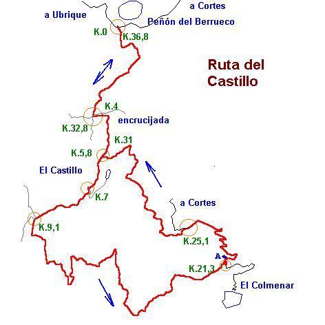 Imágenes del artículo: Ruta 10 - Vuelta al Castillo (P.N.Los Alcornocales, El Colmenar)