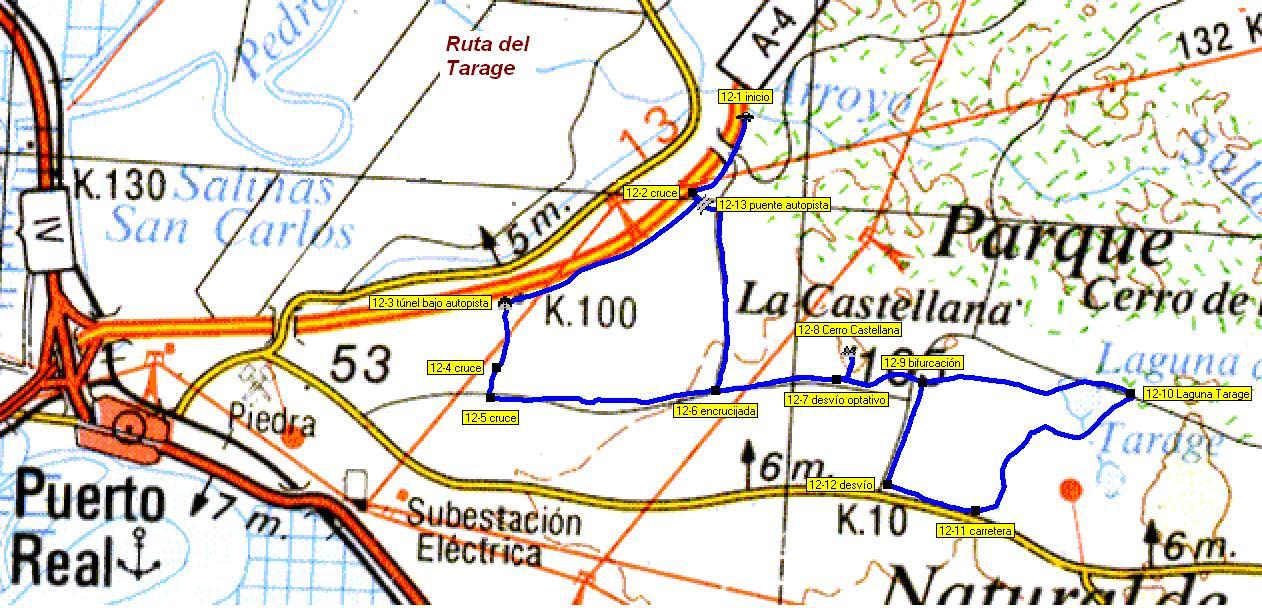 Imágenes del artículo: Ruta 13 - Del Taraje  (Puerto Real)