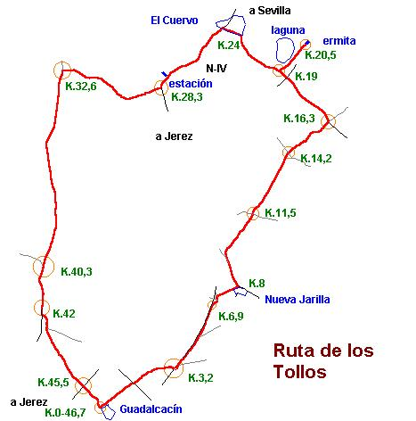 Imágenes del artículo: Ruta 19 - Los Tollos (Guadalcacín, El Cuervo)