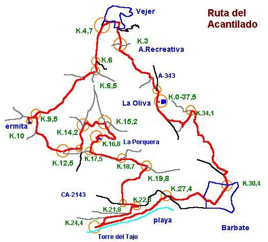 Imágenes del artículo: Ruta 20 - Del Acantilado (Vejer, Barbate)