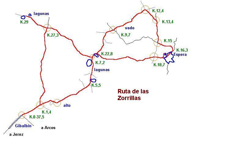 Imágenes del artículo: Ruta 21 - Las Zorrillas  (Gibalbín, Espera)