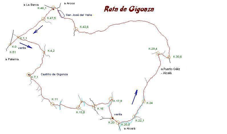 Imágenes del artículo: Ruta 22 - Gigonza  (San José del Valle)