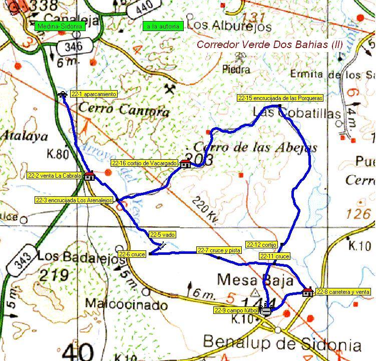 Imágenes del artículo: Ruta 23 - Corredor Verde Dos Bahías (II) (Medina Sidonia, Benalup)
