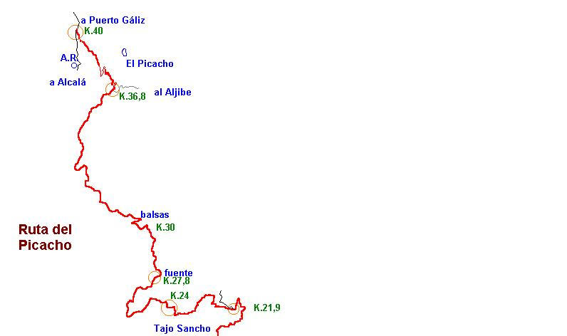 Imágenes del artículo: Ruta 25 - Del Picacho  (P.N.Los Alcornocales, Alcalá de los Gazules)