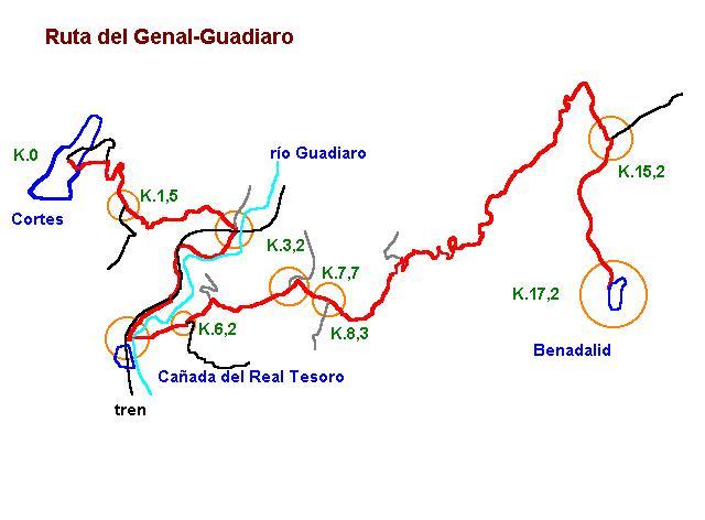 Imágenes del artículo: Ruta 27 - Del Genal-Guadiaro  (Cortes, Benadalid)