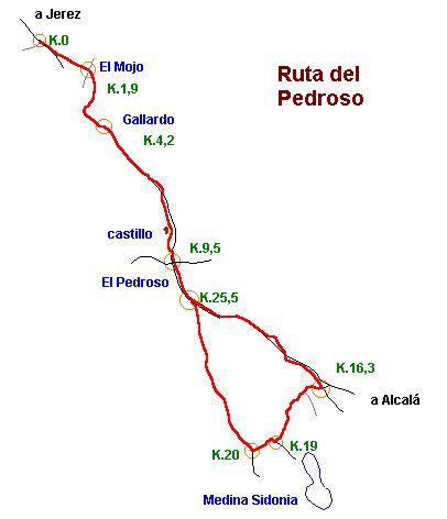 Imágenes del artículo: Ruta 29 - Del Pedroso (Jerez, Medina Sidonia)