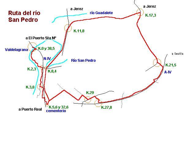 Imágenes del artículo: Ruta 30 - Del Río San Pedro  (Valdelagrana, Puerto Real)