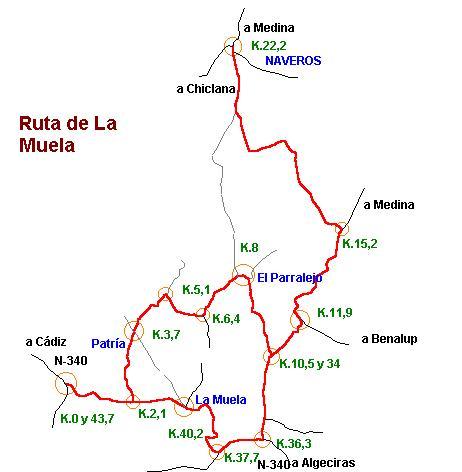 Imágenes del artículo: Ruta 31 - La Muela (Vejer, Naveros)