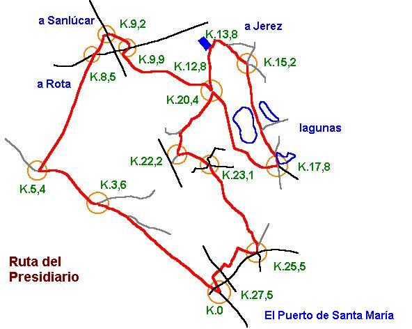 Imágenes del artículo: Ruta 32 - Del Presidiario (Puerto Santa María)