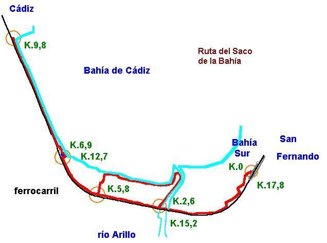Imágenes del artículo: Ruta 33 - Del Saco de la Bahía (San Fernando, Cádiz)