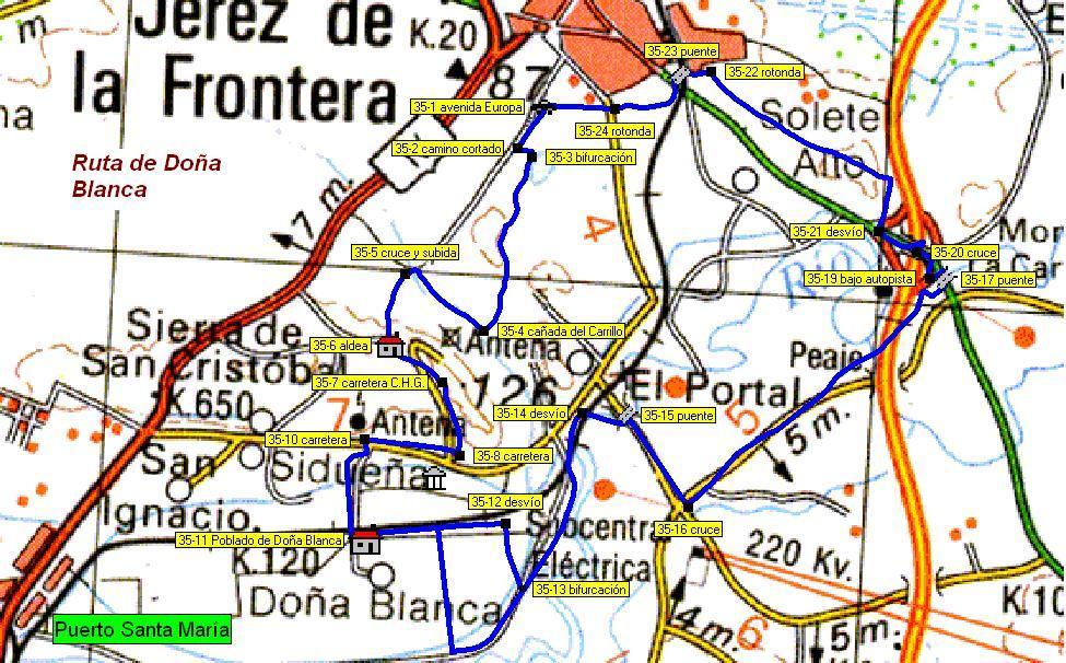 Imágenes del artículo: Ruta 36 - Doña Blanca (Jerez)