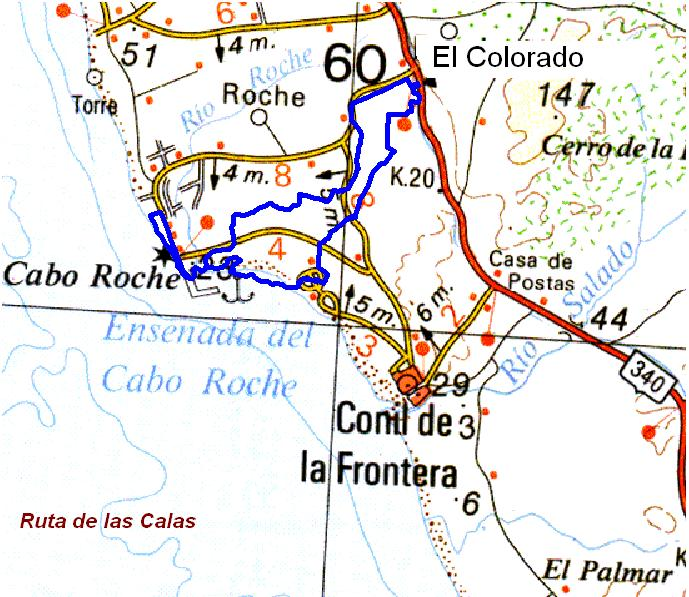 Imágenes del artículo: Ruta 38 - Las Calas (El Colorado, Conil, Roche)