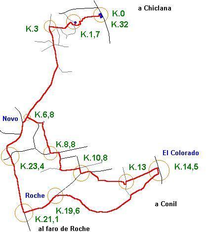 Imágenes del artículo: Ruta 40 - El Pinar de Hierro  (Chiclana, Roche, El Colorado)