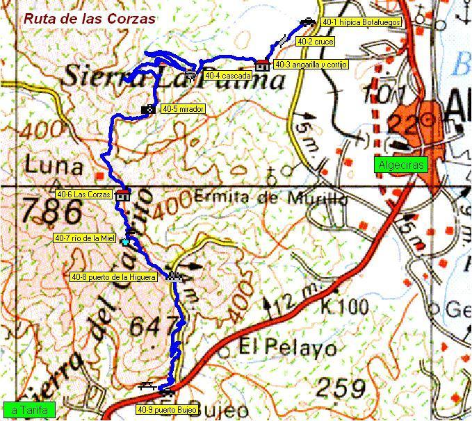 Imágenes del artículo: Ruta 41 - Las Corzas (puerto del Bujeo, Algeciras)