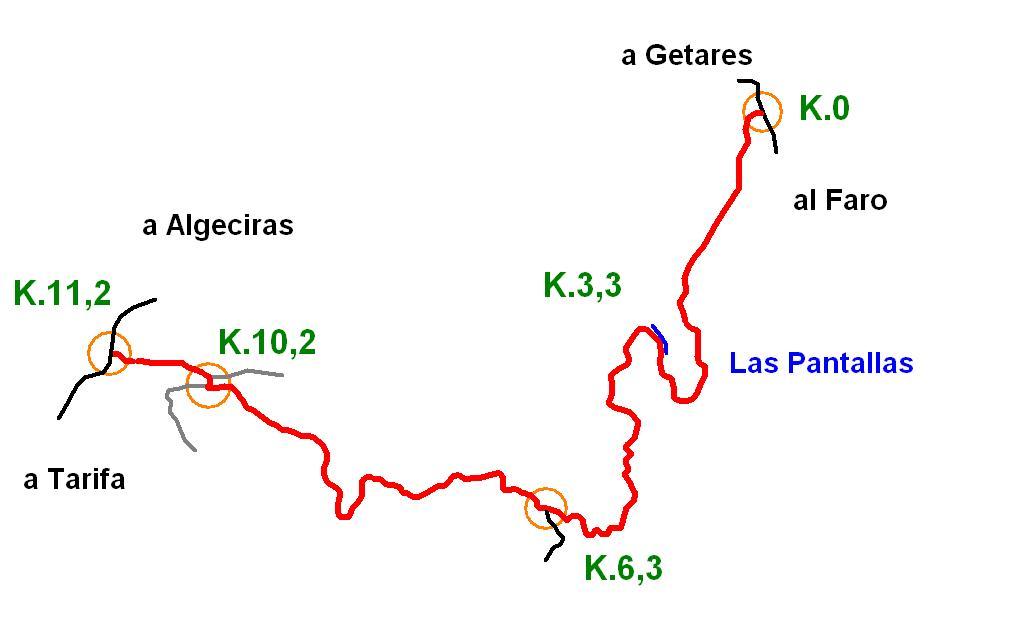 Imágenes del artículo: Ruta 43 - Las Pantallas (Algeciras, Getares, Pelayo)