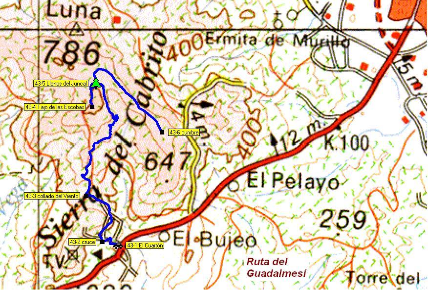 Imágenes del artículo: Ruta 44 - Del Alto Guadalmesí (puerto del Bujeo, entre Algeciras y Tarifa)