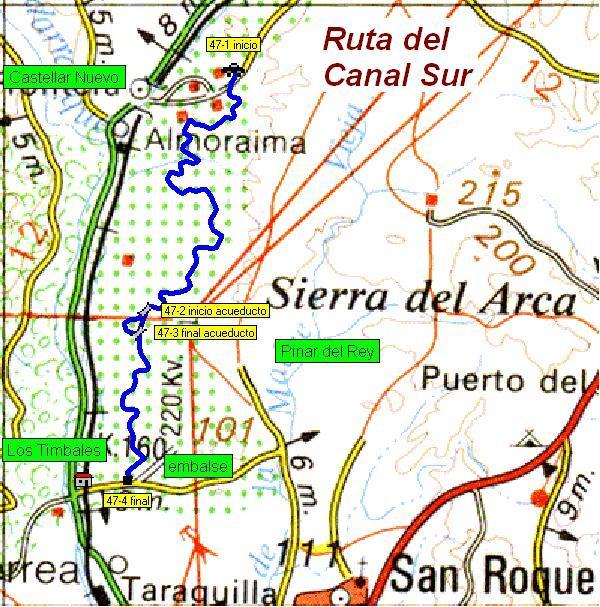 Imágenes del artículo: Ruta 48 - Del Canal Sur (Nuevo Castellar, San Roque)
