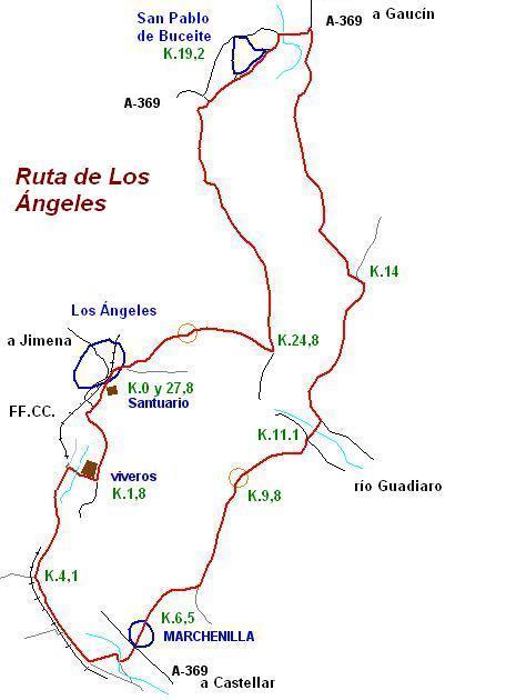 Imágenes del artículo: Ruta 50 - Los Angeles (Jimena de la Frontera)