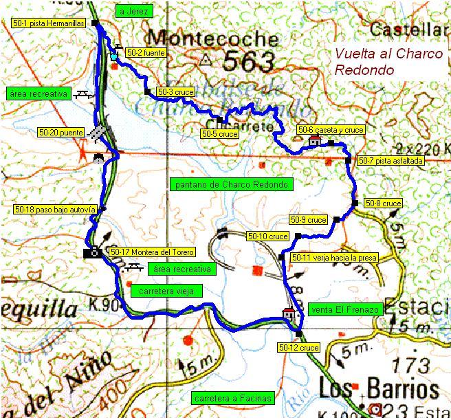 Imágenes del artículo: Ruta 51 - Vuelta al Charco Redondo (Los Barrios)
