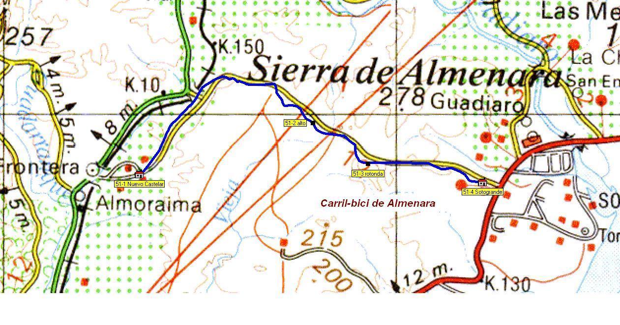 Imágenes del artículo: Ruta 52 - Carril Bici de la Almenara (Nuevo Castellar, Sotogrande)