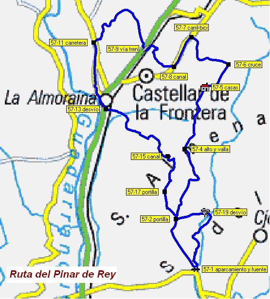 Imágenes del artículo: Ruta 54 - Pinar del Rey (San Roque, Nuevo Castellar)