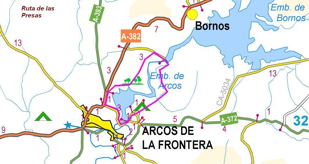 Imágenes del artículo: Ruta 55 - Las Presas (Arcos)