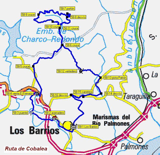 Imágenes del artículo: Ruta 58 - Cobalea (Los Barrios)